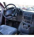 gmc safari 1996 dark red van v6 automatic 08812