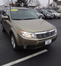 subaru forester 2009 champagne suv 2 5 x 4 cylinders automatic 45324
