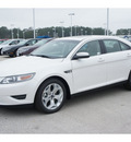 ford taurus 2012 white sedan sel gasoline 6 cylinders front wheel drive automatic 77388