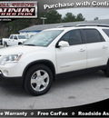 gmc acadia 2007 off white suv slt 2 gasoline 6 cylinders all whee drive automatic 77388