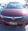 honda civic 2012 pearl sedan ex w navi gasoline 4 cylinders front wheel drive automatic 28557