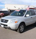 honda pilot 2003 silver suv ex l gasoline 6 cylinders sohc all whee drive automatic 80126