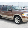ford expedition el 2011 brown suv xlt flex fuel 8 cylinders 2 wheel drive automatic 77388