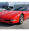 chevrolet corvette 2000 red hatchback gasoline v8 rear wheel drive automatic 77090