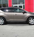 nissan murano 2009 bronze suv sl gasoline 6 cylinders front wheel drive automatic 33884