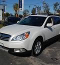 subaru outback 2011 white wagon 3 6r limited gasoline 6 cylinders all whee drive automatic 94063