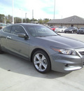 honda accord 2011 dk  gray coupe ex l v6 gasoline 6 cylinders front wheel drive automatic 75503