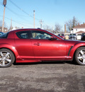 mazda rx 8 2006 red coupe shinka gasoline rotary rear wheel drive 6 speed manual 61832