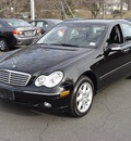 mercedes benz c class 2004 black sedan c320 4matic gasoline 6 cylinders all whee drive automatic 06019