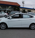 hyundai accent 2012 white sedan gls gasoline 4 cylinders front wheel drive automatic 94010