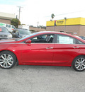 hyundai sonata 2012 dk  red sedan se gasoline 4 cylinders front wheel drive automatic 94010