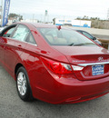 hyundai sonata 2012 dk  red sedan gls gasoline 4 cylinders front wheel drive automatic 94010