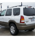 mazda tribute 2004 white suv lx v6 gasoline 6 cylinders front wheel drive 4 speed automatic 77090