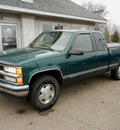 chevrolet silverado 1500 1997 green z71 gasoline v8 4 wheel drive automatic 55016