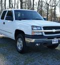 chevrolet silverado 1500 2003 white ls gasoline 8 cylinders 4 wheel drive automatic 27569