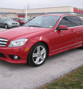 mercedes benz c300 2010 red sedan 4matic gasoline 6 cylinders all whee drive automatic 45840