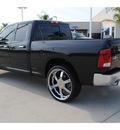 dodge ram pickup 1500 2010 black pickup truck slt gasoline 8 cylinders 2 wheel drive autostick 77065