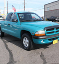 dodge dakota 1997 green sport gasoline 6 cylinders 4 wheel drive 5 speed manual 80229