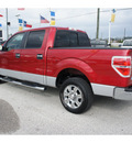 ford f 150 2009 red xlt flex fuel 8 cylinders 2 wheel drive automatic 77388
