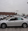 ford fusion 2012 silver sedan sel gasoline 4 cylinders front wheel drive automatic with overdrive 60546