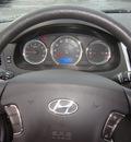 hyundai sonata 2009 black sedan gasoline 4 cylinders front wheel drive automatic 60443