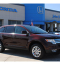 ford edge 2010 dk  red suv limited gasoline 6 cylinders front wheel drive automatic with overdrive 77065