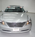 lexus ls 460 2009 silver sedan gasoline 8 cylinders rear wheel drive automatic 91731