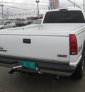 gmc c k 3500 series 2000 white pickup truck k3500 sle gasoline v8 4 wheel drive automatic 62863