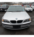 bmw 3 series 2003 silver sedan 325xi gasoline 6 cylinders all whee drive automatic 08812