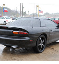 chevrolet camaro 1997 black hatchback gasoline v6 rear wheel drive automatic with overdrive 77037