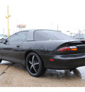 chevrolet camaro 1997 black hatchback gasoline v6 rear wheel drive automatic with overdrive 77037