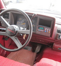 chevrolet c k 1500 series 1994 red pickup truck c1500 cheyenne gasoline v8 rear wheel drive automatic 77379