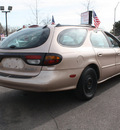mercury sable 1997 tan wagon gs gasoline 6 cylinders front wheel drive automatic 80229