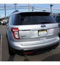 ford explorer 2011 silver suv limited gasoline 6 cylinders 2 wheel drive automatic with overdrive 08902