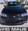 chevrolet impala 2004 black sedan gasoline 6 cylinders front wheel drive automatic 32771