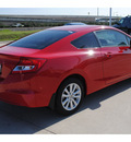 honda civic 2012 red coupe ex gasoline 4 cylinders front wheel drive automatic 77065
