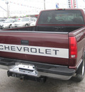 chevrolet c k 1500 series 1997 red pickup truck c1500 cheyenne gasoline v8 rear wheel drive automatic 62863