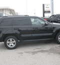 jeep grand cherokee 2007 black suv laredo gasoline 6 cylinders rear wheel drive autostick 62863