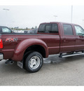 ford f 350 super duty 2012 dk  red lariat biodiesel 8 cylinders 4 wheel drive automatic with overdrive 77388
