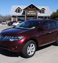 nissan murano 2009 maroon suv sl gasoline 6 cylinders front wheel drive automatic with overdrive 76087