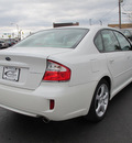 subaru legacy 2009 white sedan 2 5i special edition gasoline 4 cylinders all whee drive automatic 45324