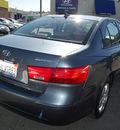 hyundai sonata 2010 gray sedan gls pzev gasoline 4 cylinders front wheel drive automatic 94010