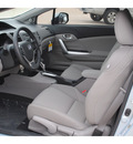 honda civic 2012 lt  blue coupe ex l gasoline 4 cylinders front wheel drive automatic 77065