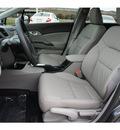 honda civic 2012 dk  gray sedan ex l gasoline 4 cylinders front wheel drive automatic 77065