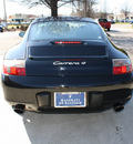 porsche 911 2000 black coupe carrera 4 gasoline 6 cylinders 6 speed manual 27616