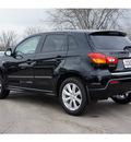 mitsubishi outlander sport 2012 black suv se gasoline 4 cylinders front wheel drive automatic 78238