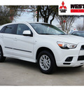 mitsubishi outlander sport 2012 white suv es gasoline 4 cylinders front wheel drive automatic 78238