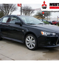 mitsubishi lancer 2012 black sedan gt gasoline 4 cylinders front wheel drive automatic 78238