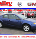 saturn ion 2006 blue coupe 2 gasoline 4 cylinders front wheel drive automatic 55124