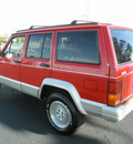 jeep cherokee 1995 red suv country gasoline 6 cylinders rear wheel drive automatic 34474